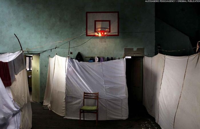 1er prix « Informations générale » - Alessandro Penso Centre pour réfugiés syriens à Sofia (Bulgarie), le 21 novembre 2013.